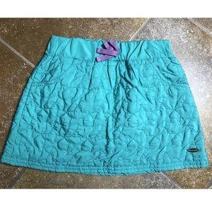 American Girl Bottoms - American Girl Star Quilt Skirt Teal Size 7